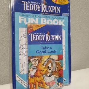 NEW The World of Teddy Ruxpin Take A Good Look VHS